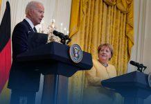 Germany's Angela Merkel Meets Joe Biden, Discussed Nord Stream 2 and China