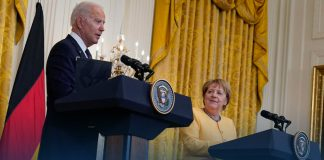 President Biden Gives Germany Chancellor Angela Merkel a White House Farewell