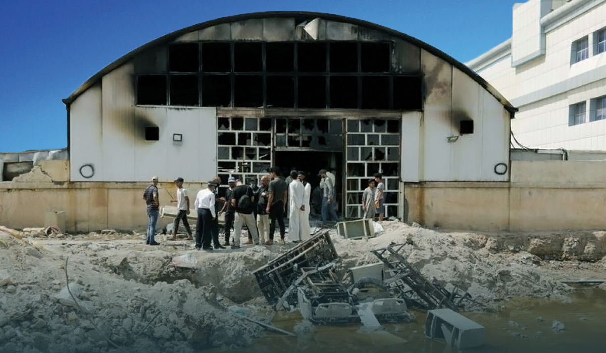 At least 66 Died, More than 100 Injured in Fire at COVID-19 Ward In Iraqi Hospital