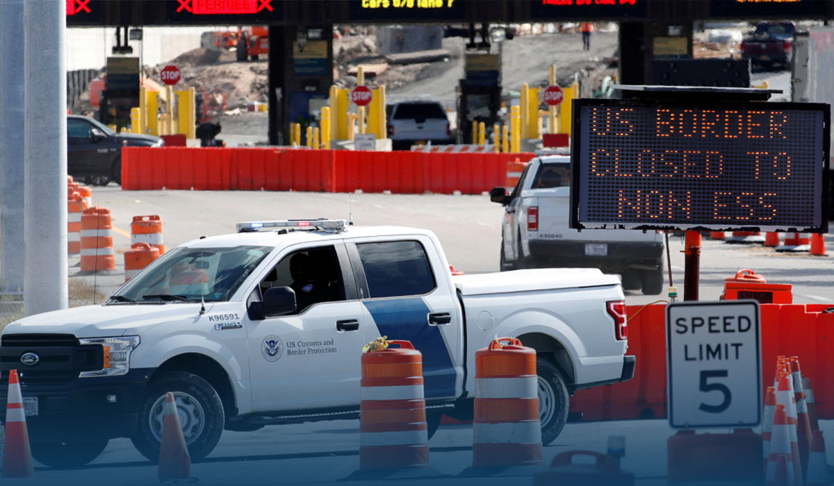 Canada Opens Its Border For Inoculated U.S. Travelers