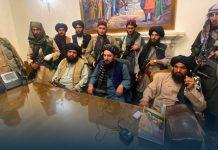 "Taliban Says ""the war is over in Afghanistan"" As President Ashraf Ghani Flees"