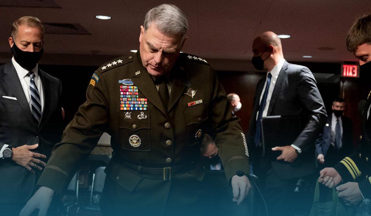 Top US Generals Recommended President Biden To Maintain 2500 Troops In Afghanistan
