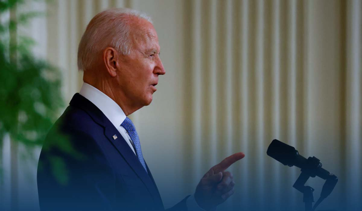 Joe Biden Defended His Decision To Exit From Afghanistan
