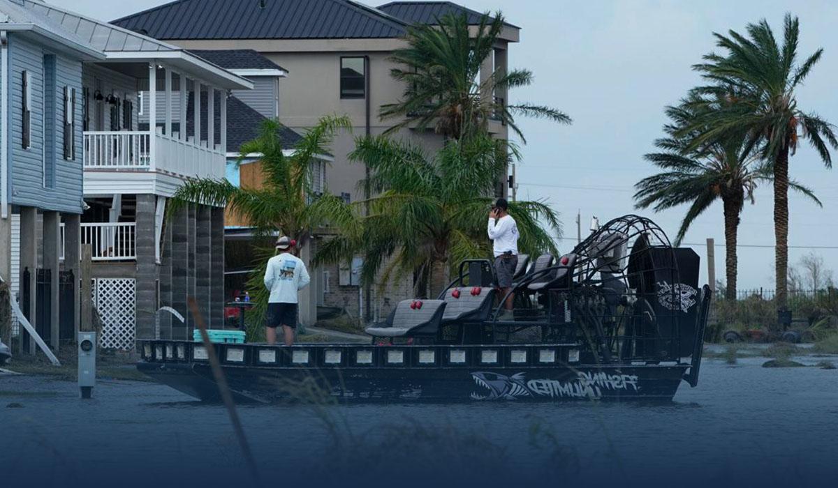 President Biden Calls for Climate Control Measures as He Surveys Hurricane Ida Damage