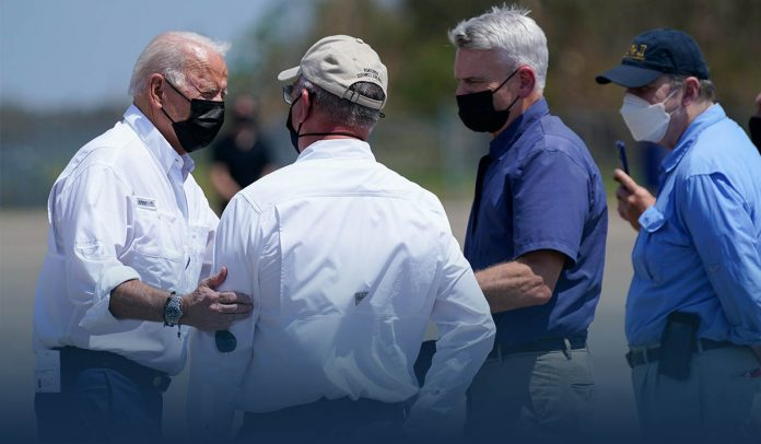 Biden In New Orleans to See Devastation Caused by Hurricane Ida