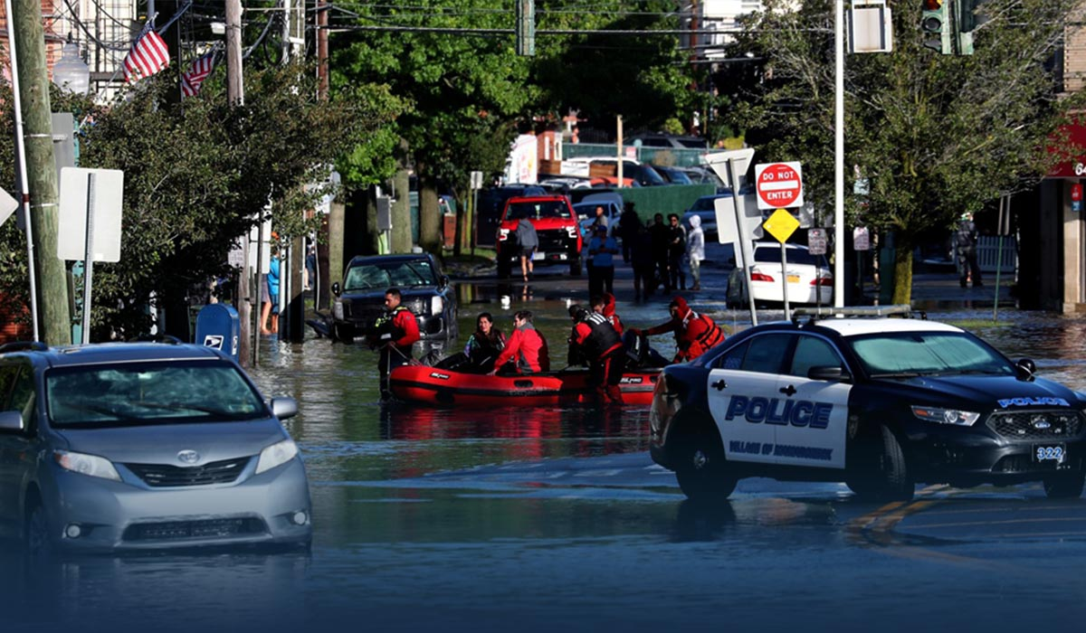 At Least 46 Died from Brutal Flooding Caused by Hurricane Ida Remnants