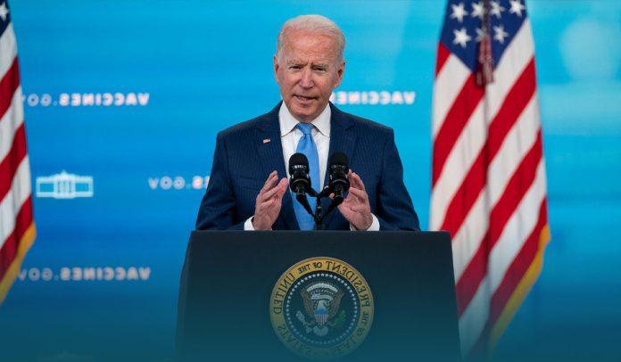 US President Brags About Achievement of Coronavirus Jab Mandate
