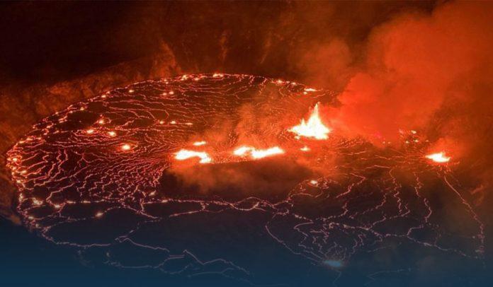 Hawaii's Kilauea Volcano Erupted In 'Full Swing' Within National Park on Big Island